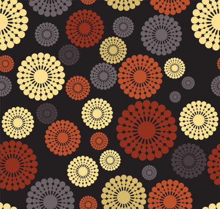 abstract retro pattern Stock Vector - 18494387