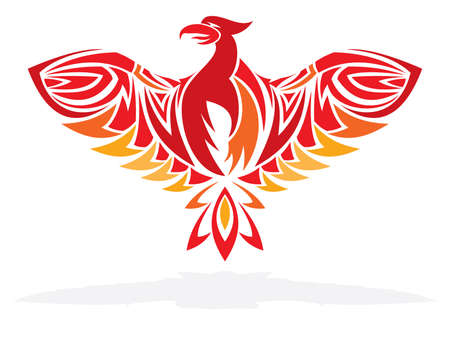 fenice: Phoenix Bird Vettoriali