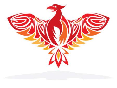 ave fenix: Phoenix pájaro