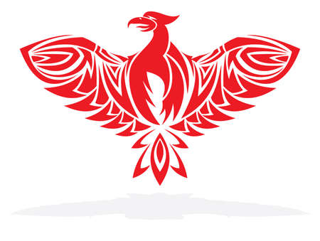 Phoenix bird Stock Vector - 18523160