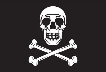 roger: Pirate flag Illustration