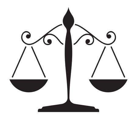 Justitie schaal