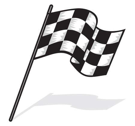 rallying: Race flag