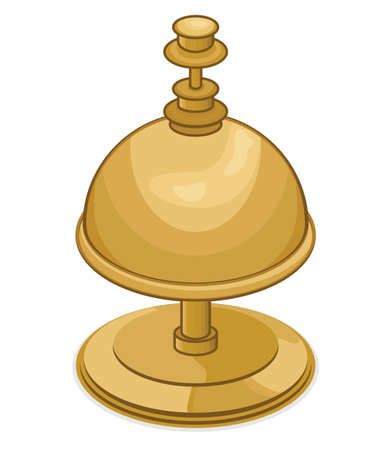 alertness: Reception Bell Illustration