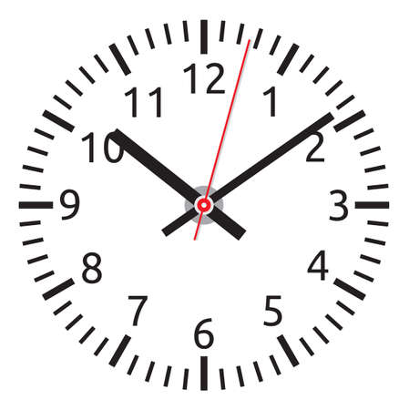 clock Stock Vector - 18734107