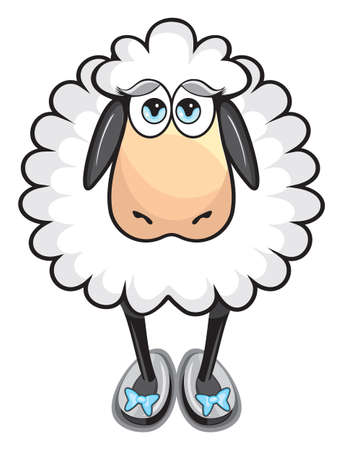 Leuke witte schapen