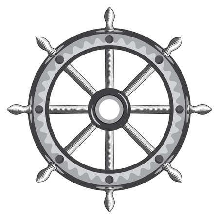 vecchia nave: Vecchia nave volante Vettoriali