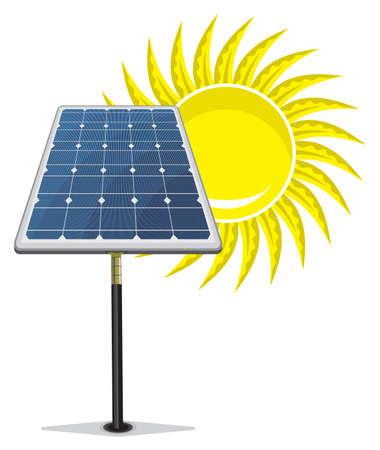 Solar Panel Stock Vector - 18689773