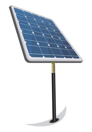 Solar Panel Stock Vector - 18689771