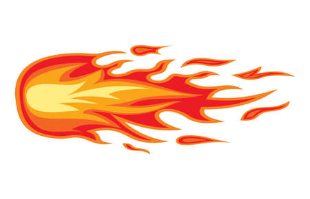 Fire flame Stock Vector - 18579642