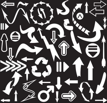 arrows seamless pattern Stock Vector - 18733945