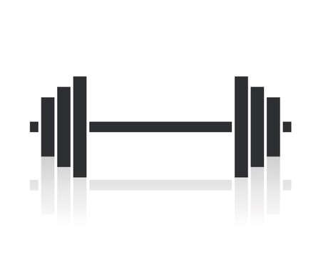 dumbell: manubri simbolo pesi