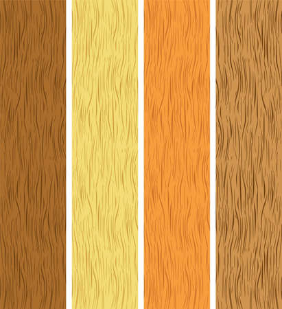 caoba: conjunto de texturas de madera