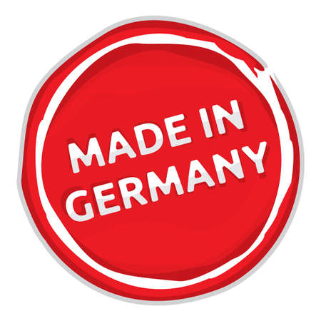 Rubber stamp - Made in Germany Vector