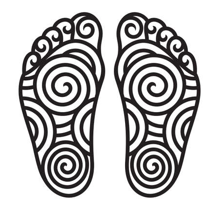 foot symbol Vector