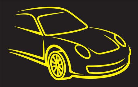 Car silhouette Stock Photo - 18874742