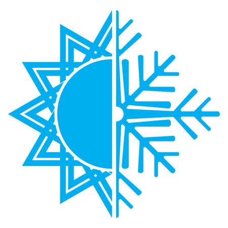 ventilator: air conditioning icon Illustration