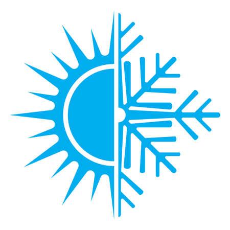 aire acondicionado: Icono de aire acondicionado
