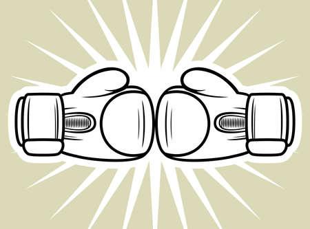 Boxhandschuhe Streik