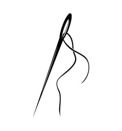 eyelet: Needle Illustration