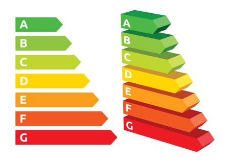 Energy efficiency rating Stock Vector - 19134291