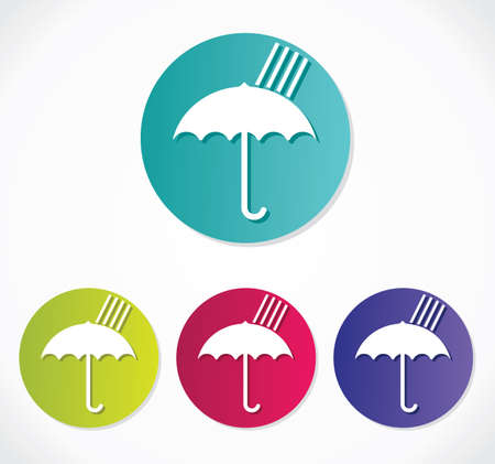 Umbrella icon Stock Vector - 19134320