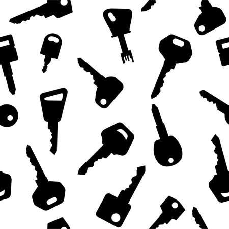 Key pattern Stock Vector - 19134289