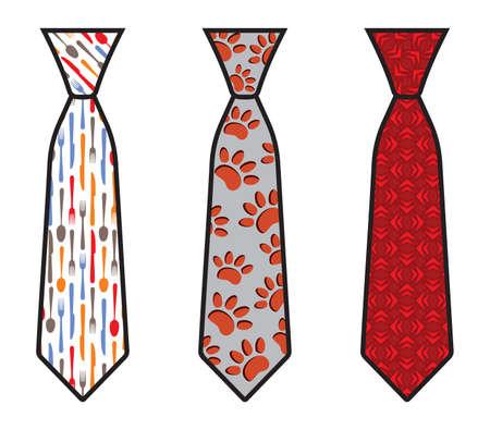 Set of Vector Ties