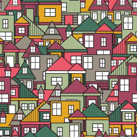 case colorate: Casa senza soluzione di continuit�