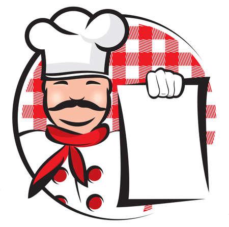 cook hats: Cocinero Vectores