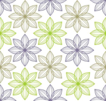 festive pattern: Flower pattern Illustration