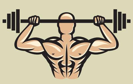 Bodybuilder Stock Vector - 19263717
