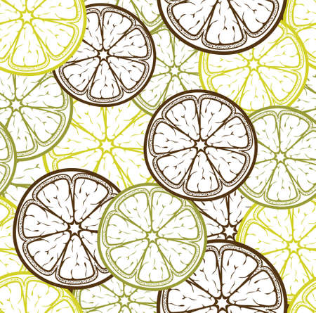 lemon tree: Lemon seamless pattern