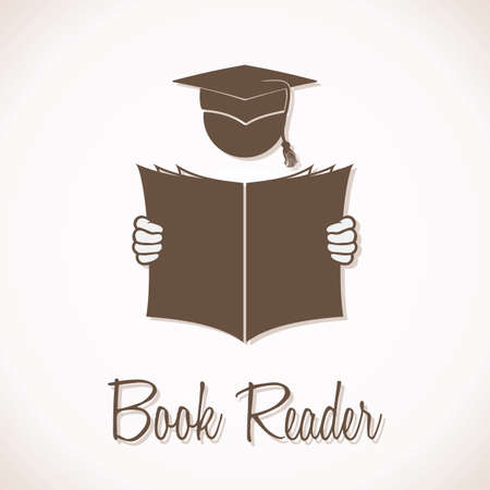 Book Reader Sign Stock Vector - 20503941