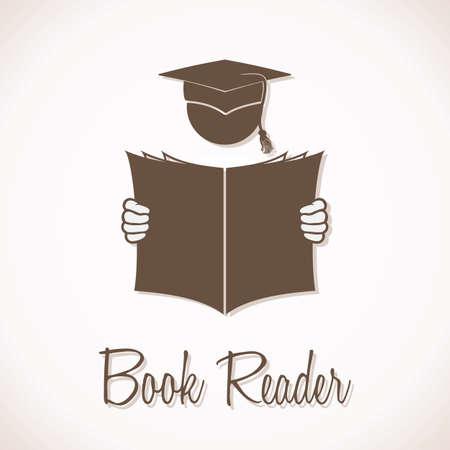 reading news: Book Reader Sign