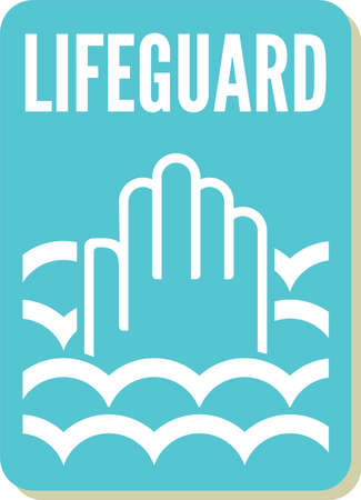 lifeguard sign Stock Vector - 20504309