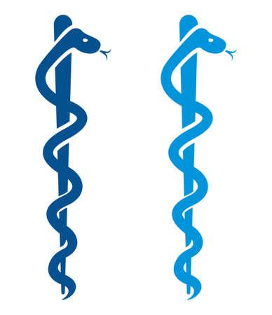 medical symbol: M?dico s?mbolo del caduceo