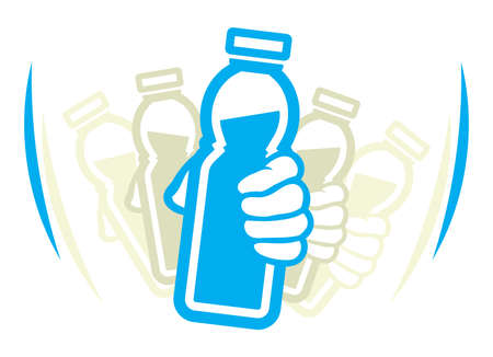 Schud fles yoghurt voor gebruik