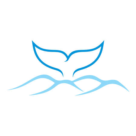 ballena azul: Cuento de la ballena y el mar