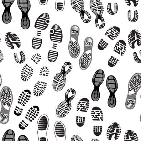 imprint soles shoes pattern