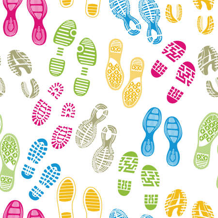 running shoes: imprint soles shoes pattern