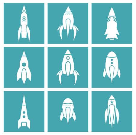 stabilizer: Rocket icons