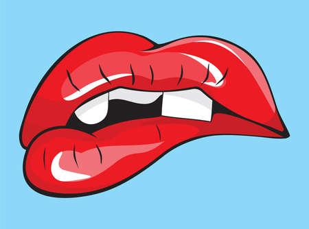 Mund ohne Zähne