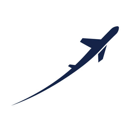 airplane symbol Illustration