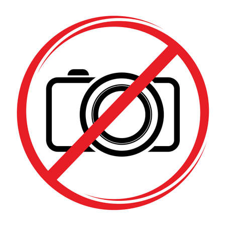 No camera sign Stock Vector - 20504254