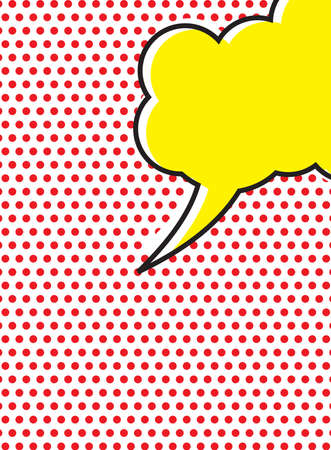 pop: Pop Art Speech Bubble Illustration