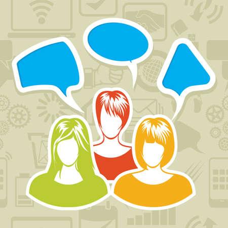 Social Network Stock Vector - 20503997