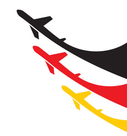 air show: Airplanes Germany background