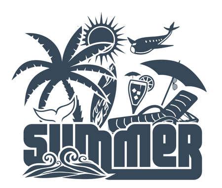 夏の休日のポスター 写真素材 - 22362818
