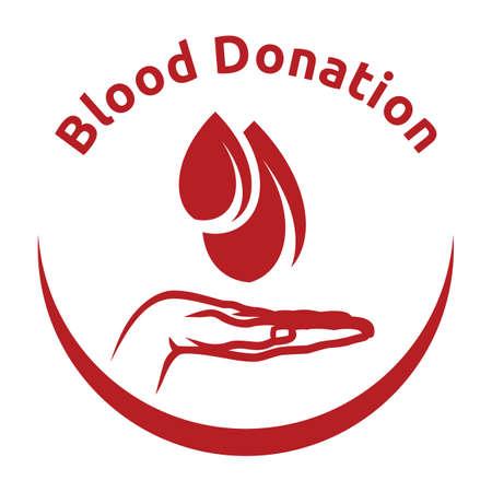blood tests: Blood donation Illustration